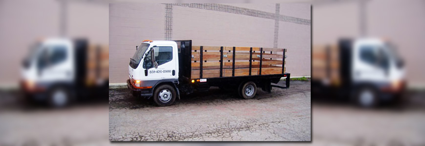 9ft, 12ft and 14ft Flatbed Trucks