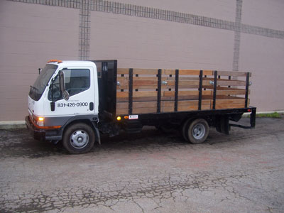 14ft Flatbed Stake-side Truck