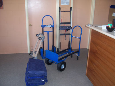 Hand Trucks and Moving Supplies