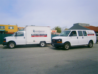 10ft Cargo Vans and 10ft Baby Box Truck