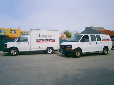10ft Cargo Vans and 10ft Baby Box Truck